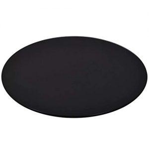 Kaminbodenplatte schwarz