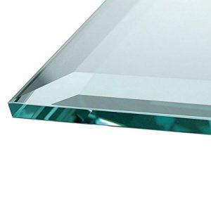 Glasplatte Kamin