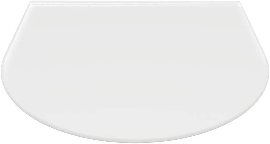 Rundbogen Kaminofenplatte aus Glas